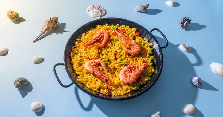 Простий рецепт різотто з морепродуктами