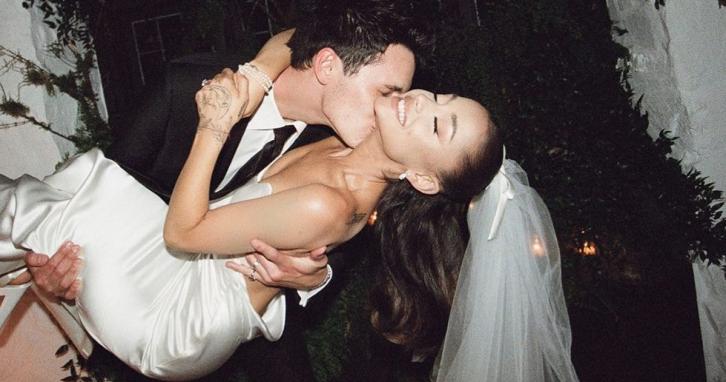 Аріана Ґранде вийшла заміж: свіжі фото з весілля
