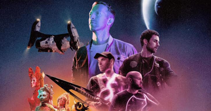 Гурт Coldplay представив космічний кліп