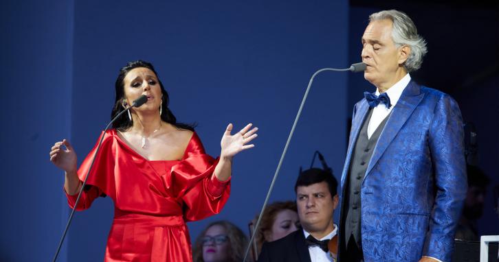 Андреа Бочеллі заспівав з Тіною Кароль та Джамалою, а MONATIK став Заслуженим артистом