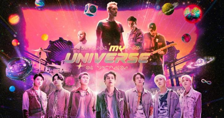 """Кліп BTS та Coldplay """"My Universe"""" підриває мережу"""