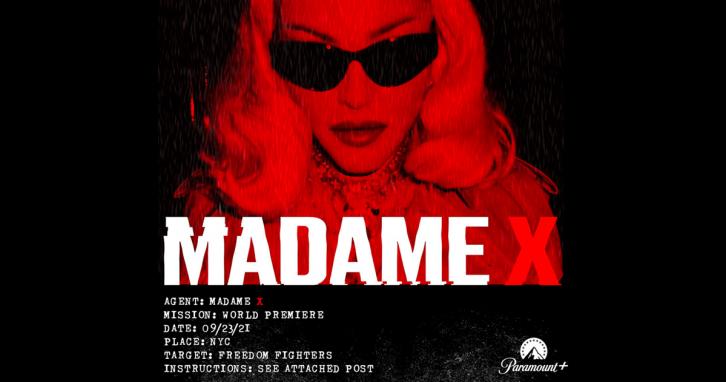 Український режисер зняв фільм про Мадонну «Madame X»